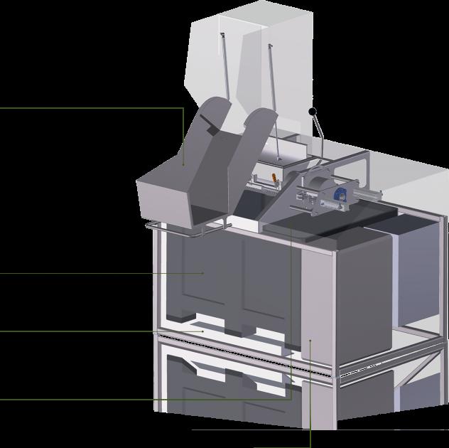 Equipement de pré-traitement machine 2